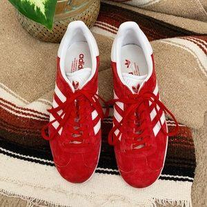 Red Gazelle Adidas